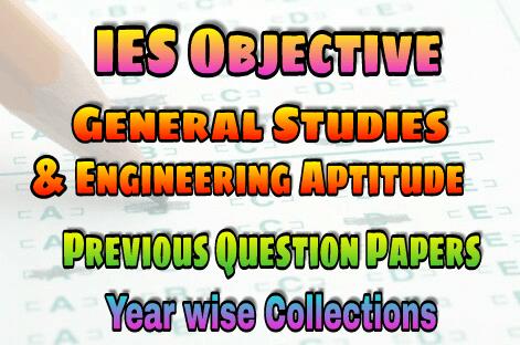 PDF] General Studies & Engineering Aptitude IES Objective