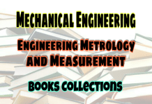 ENGINEERING METROLOGY AND MEASUREMENTS Books