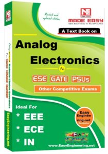 Analog Electronics EasyEngineering Team Study Materials for GATE IES PSUs