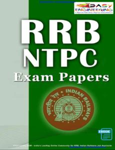 Pdf question paper railway non technical