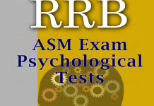 Psychological Tests For Assistant Station Master (ASM)