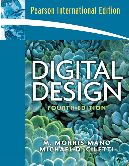 Digital Design By M. Morris Mano