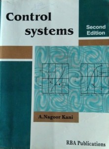Control Systems Engineering By A.Nagoor Kani