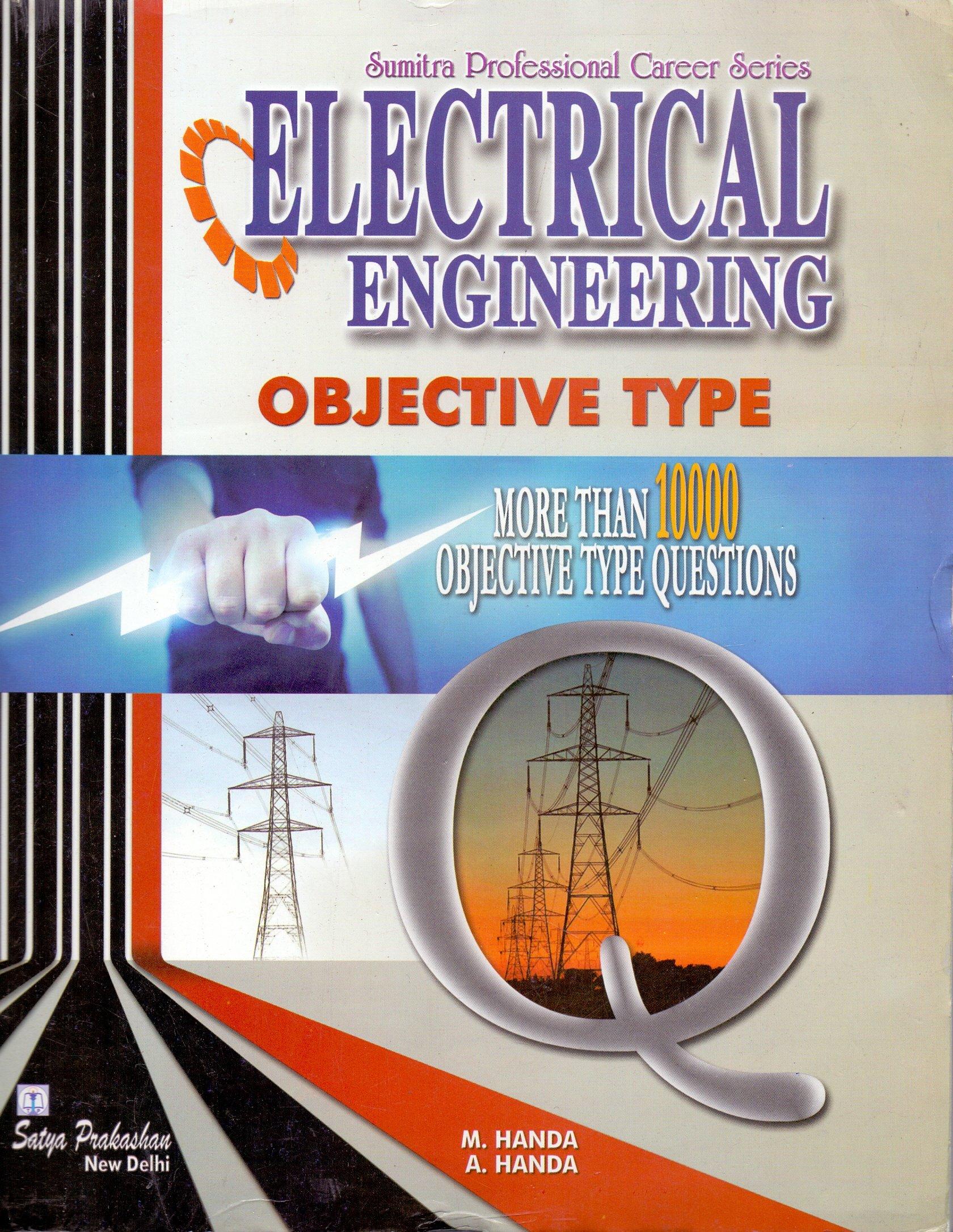 Electrical Engineering Objective Type By A.Handa, M.Handa