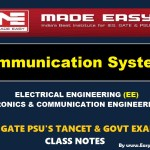 COMMUNICATION SYSTEMHandwritten Made Easy IES GATE PSU's TNPSC TRB TANCET SSC JE AE AEE& GOVT EXAMS Study Materials