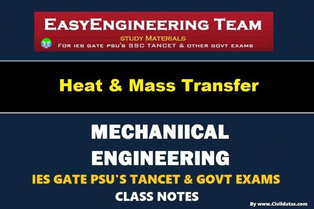 PDF] EasyEngineering Team Heat & Mass Transfer Handwritten Classroom