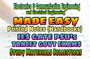EasyEngineering Team IES GATE PSU's TNPSC TRB TANCET SSC JE AE AEE & GOVT EXAMS Study Materials