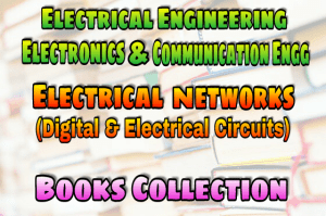 Electrical Network (Digital & Electrical Circuits) Books