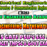 ENGINEERING MATHEMATICSACE Engineering Academy IES GATE PSU's TNPSC TANCET & GOVT EXAMS Study Materials