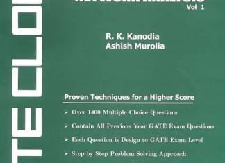 GATE Cloud Network Analysis (Volume - 1) By R K Kanodia, Ashish Murolia