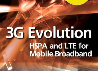 3G Evolution, Second Edition: HSPA and LTE for Mobile Broadband By Erik Dahlman,‎ Stefan Parkvall