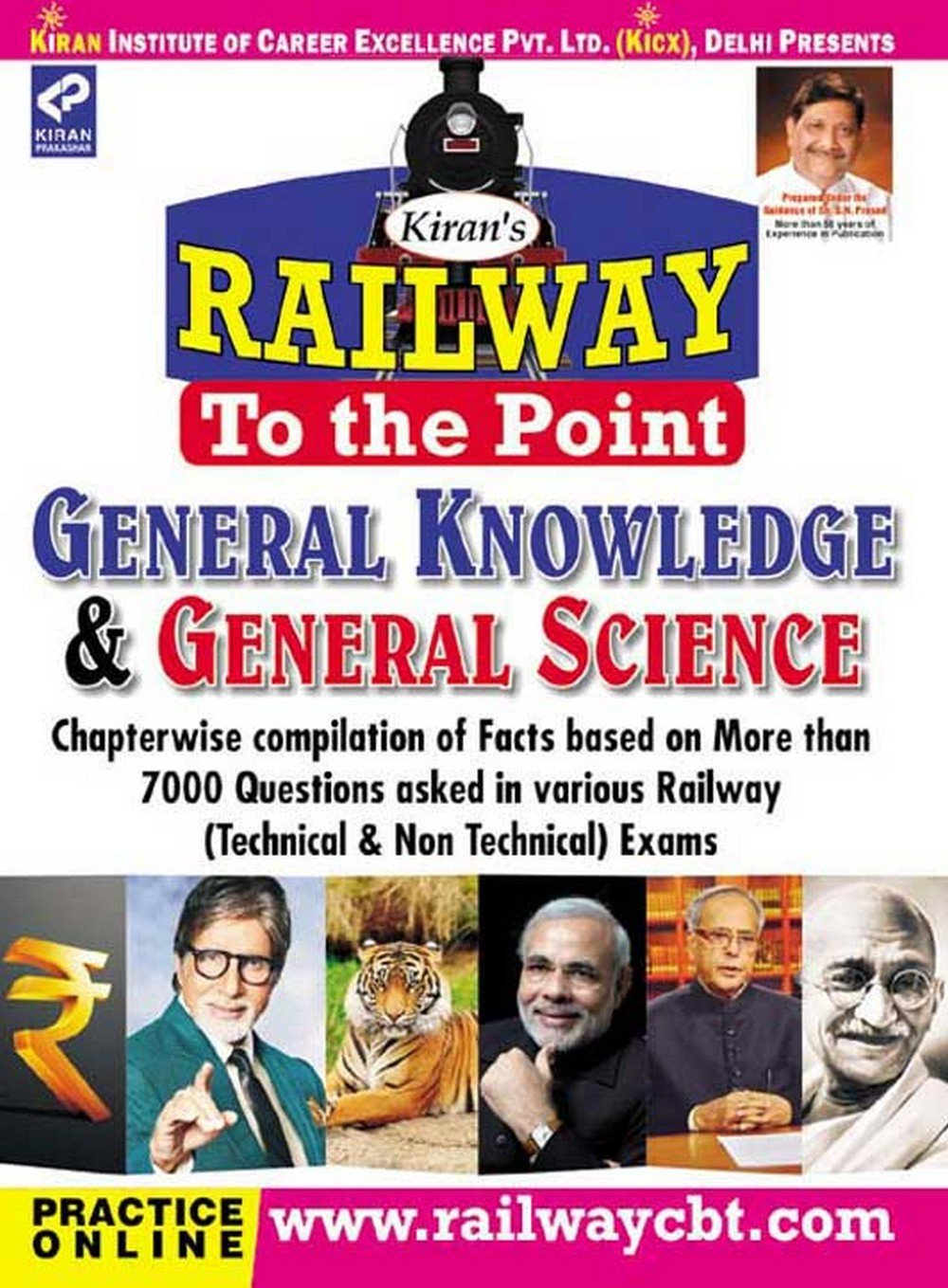Railway To the Point General Awareness & General Science By Kiran Prakashan