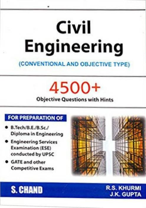Civil Engineering Objective Book Khurmi Pdf