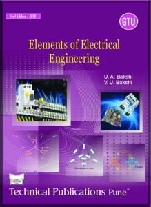 Elements of Electrical Engineering By U.A.Bakshi, V.U.Bakshi