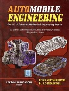 Automobile Engineering By Dr.G.K.Vijayaraghavan, Dr.S.Sundaravalli