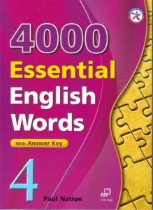4000 Essential English Words, Book 4 with Answer Key By Paul Nation