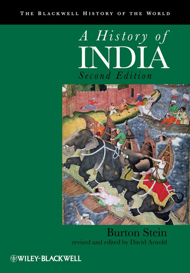 A History of India By Burton Stein, David Arnold