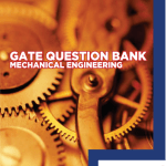 GATE Question Bank for Mechanical Engineering By The GATE Academy