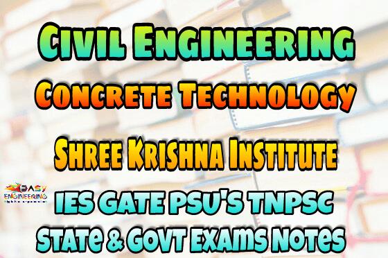 PDF] Sri Krishna Institute Concrete Technology Handwritten Classroom