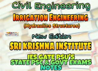 Sri Krishna Institute Irrigation Engineering & Hydraulic Structures Handwritten Classroom Notes