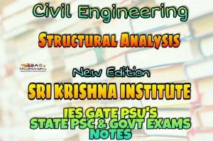 Sri Krishna Institute Structural Analysis Handwritten Classroom Notes