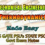Made Easy Thermodynamics Handwritten Classroom Notes