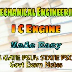 Made Easy Internal Combustion Engine (IC Engine) Handwritten Classroom Notes