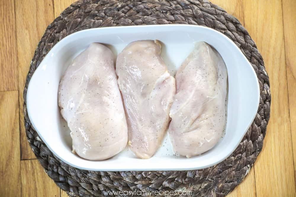 Chicken Zucchini Casserole Step 1