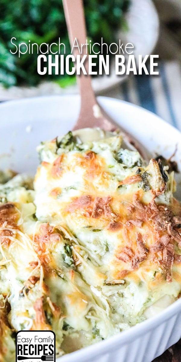 Spinach and Artichoke Chicken Recipe