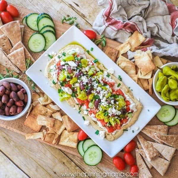 Greek Dip Party Appetizer