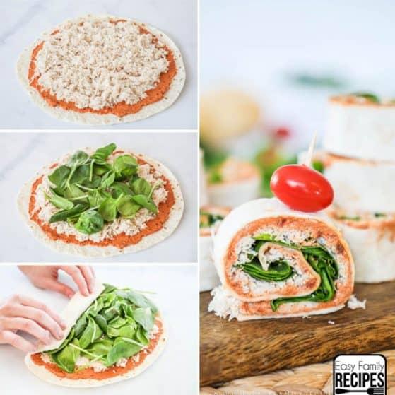 Sun Dried Tomato Wrap Recipe