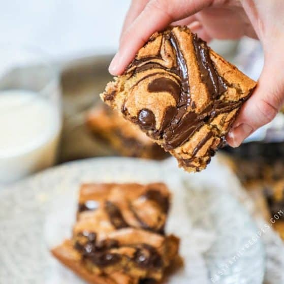 Peanut Swirl Bars Recipe
