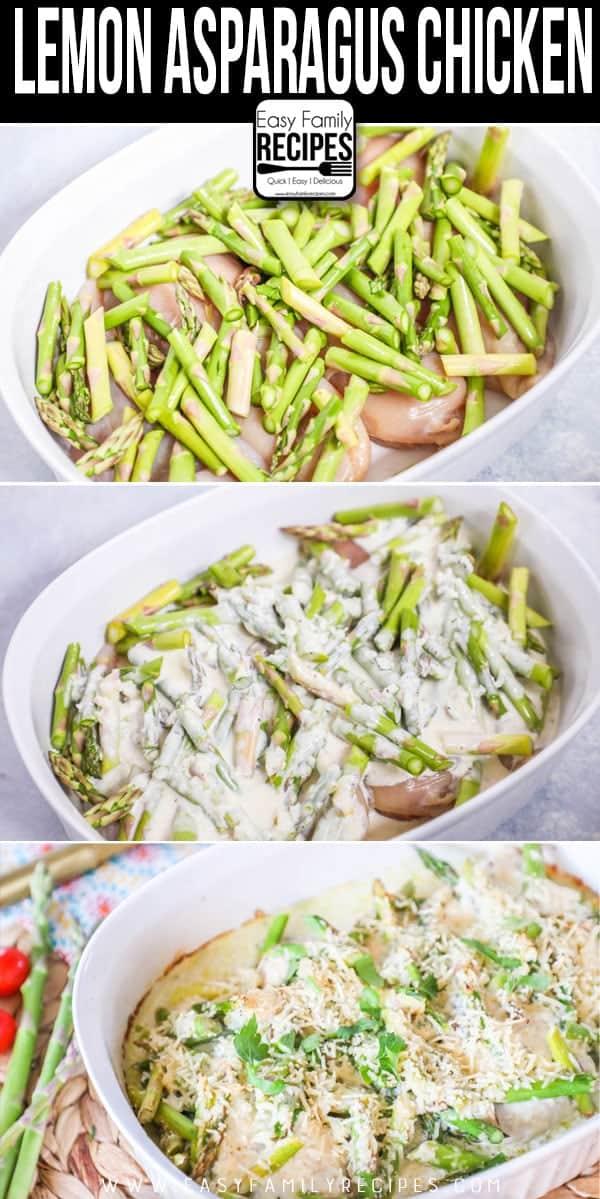 Fresh & Delicious! How to make Lemon Asparagus Chicken