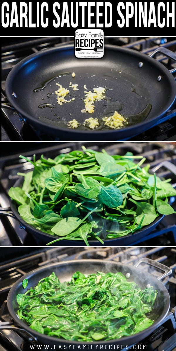 How to Make Sautéed Spinach with Garlic