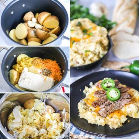 Green Chile Mashed Potatoes Recipe