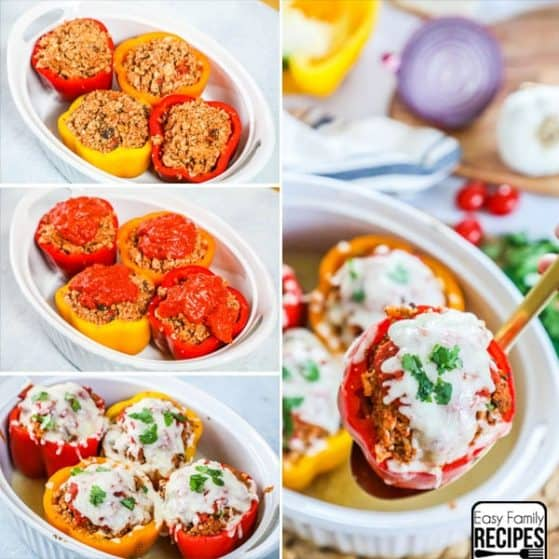 Stuffed Peppers Recipe - Gluten Free