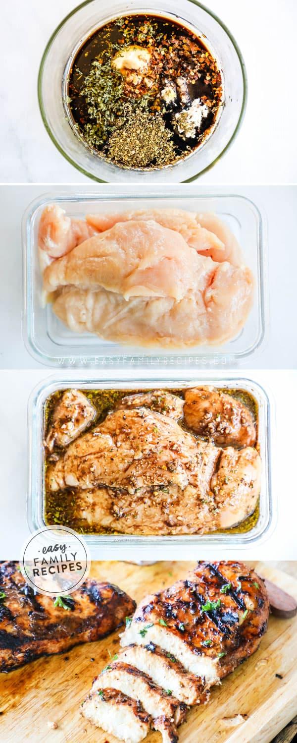 Steps to Make Balsamic Chicken Marinade