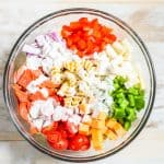 Rotini Pasta Salad Step 3