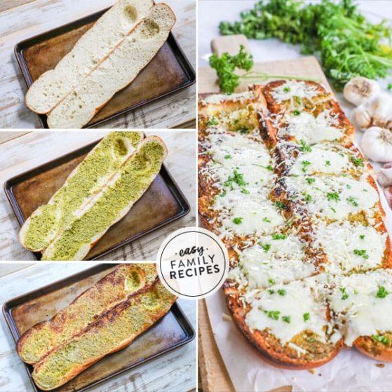 Pesto Cheesy bread is the super easy and delicious.