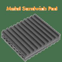 Metal Sandwich Pad
