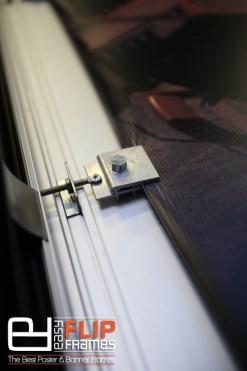 Banner Grip Frame, Banner Stretch Frame, Aluminum Banner Frame, Banner Flip up Frame.
