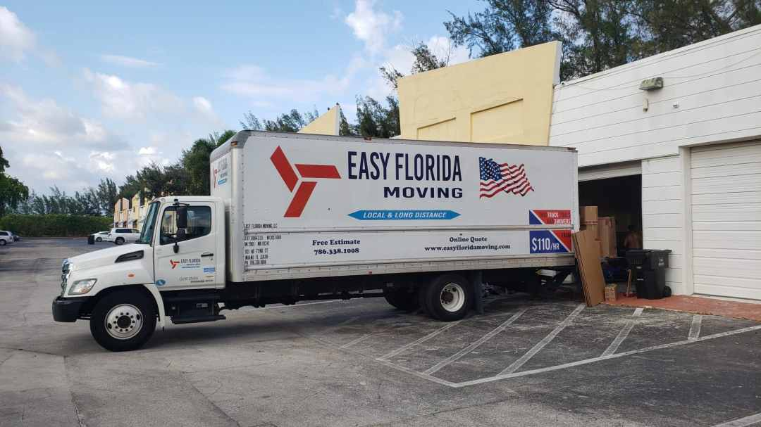 moving truck and storage