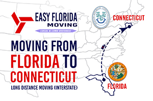 moving from Florida to Connecticut