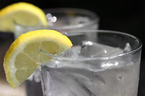lemon shot with vodka