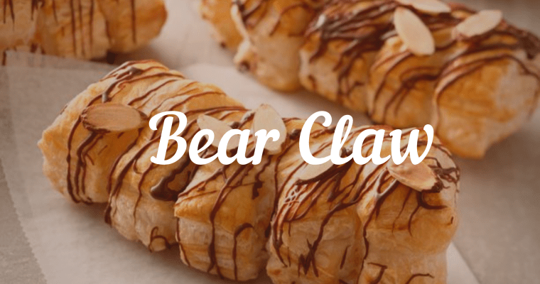 Bear Claw Recipe