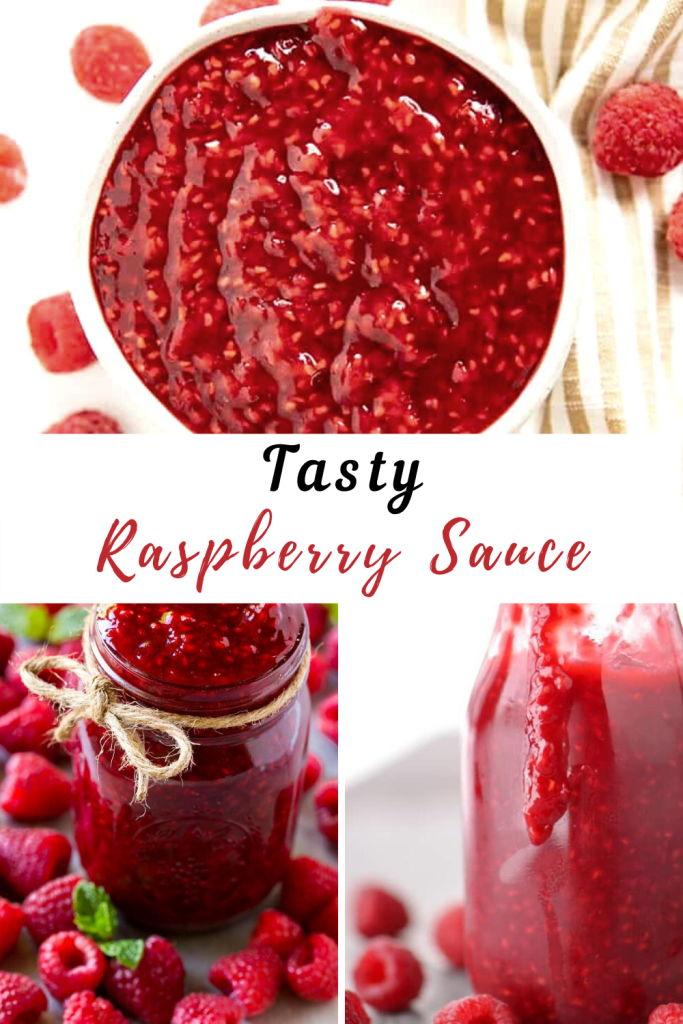 Raspberry Sauce | Easy Food Cooking Recipes