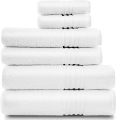 cotwell luxury white towels