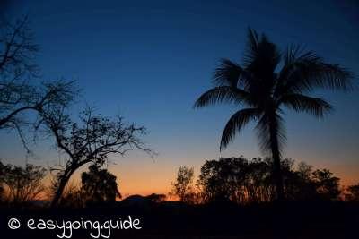 Wat Phra Pai Luang Sunset
