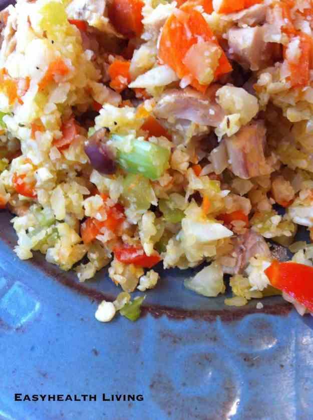 "Cauliflower ""Rice"" Stir Fry"