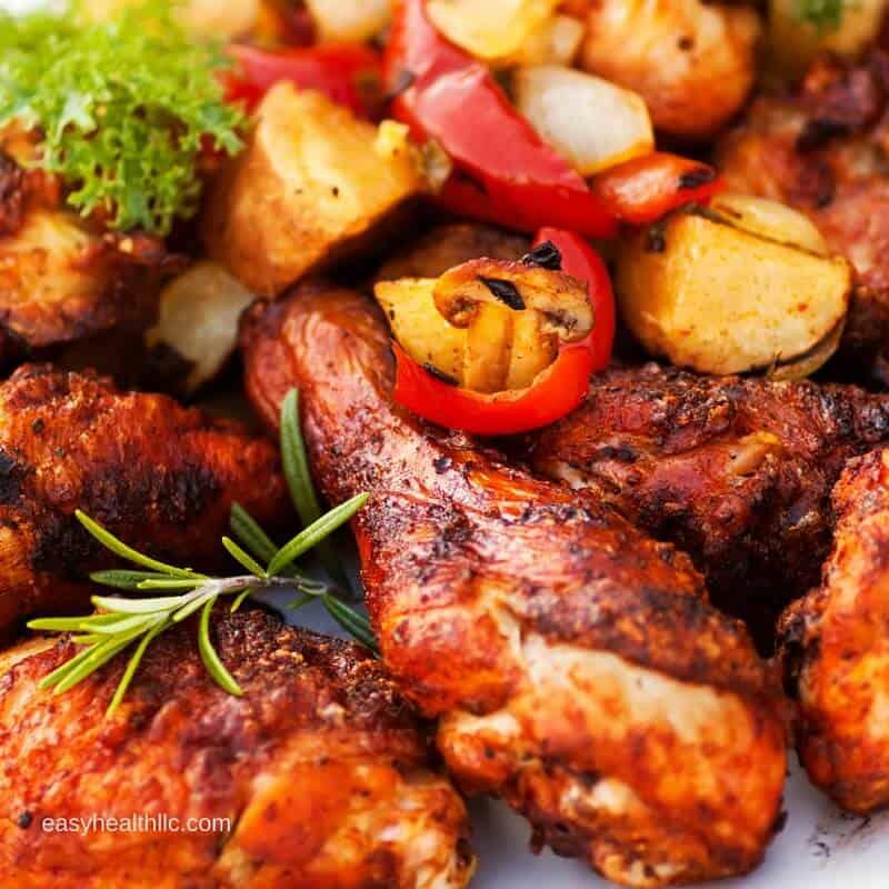 Easy Oven BBQ Chicken